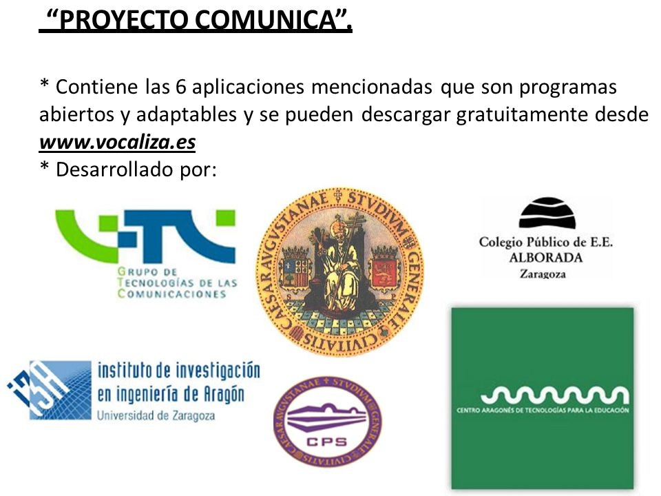 Proyecto Comunica .