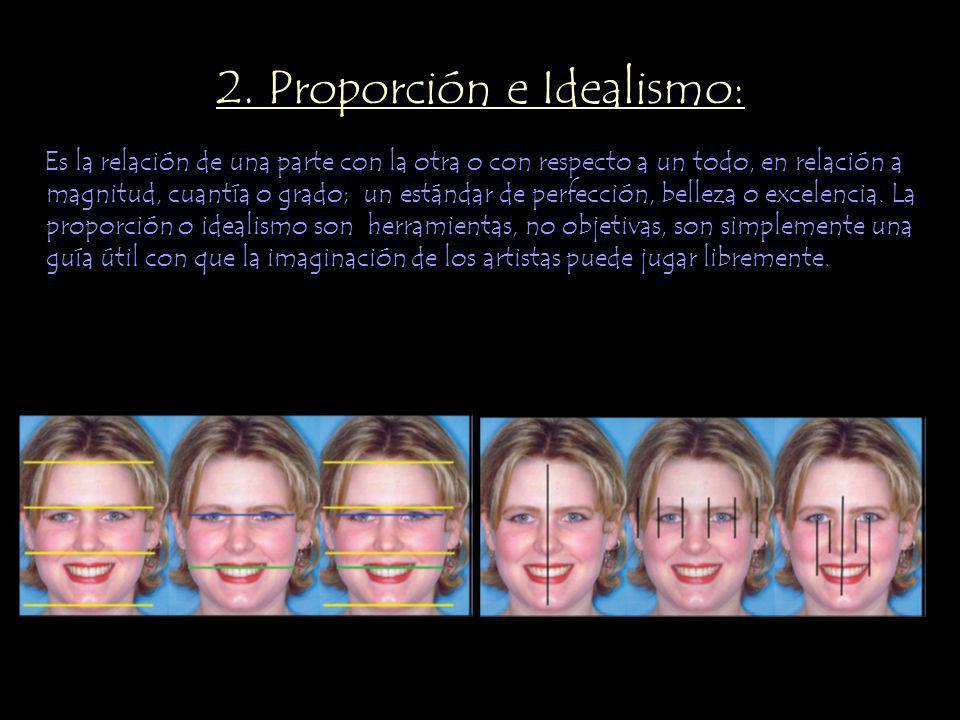 2. Proporción e Idealismo: