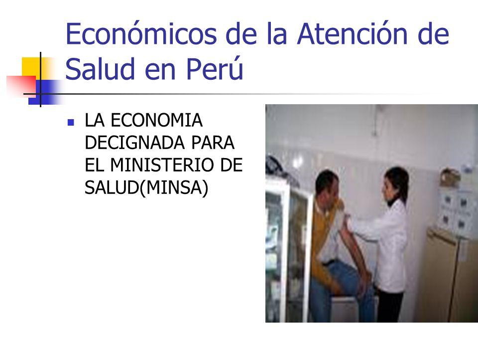 Económicos de la Atención de Salud en Perú