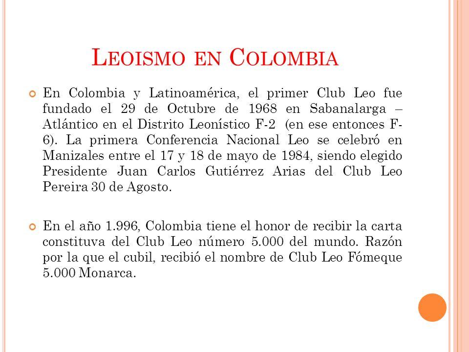 Leoismo en Colombia