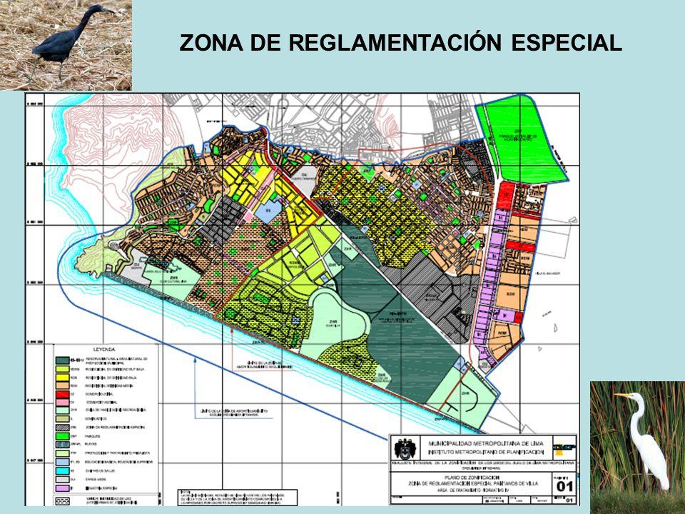 ZONA DE REGLAMENTACIÓN ESPECIAL