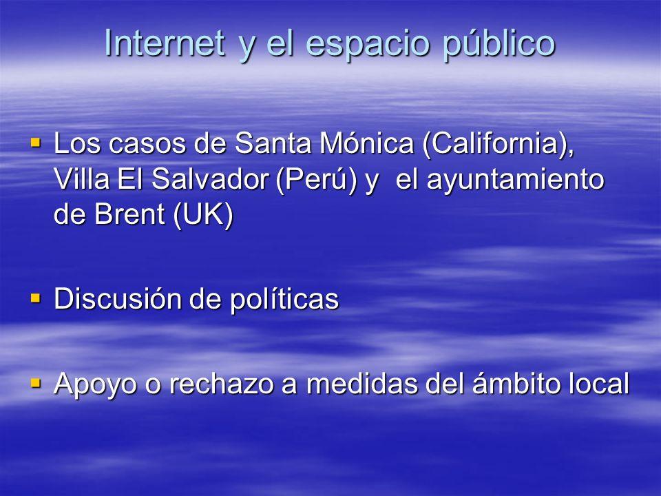 Internet y el espacio público