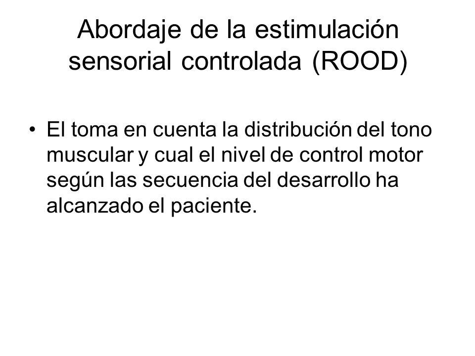 Abordaje de la estimulación sensorial controlada (ROOD)