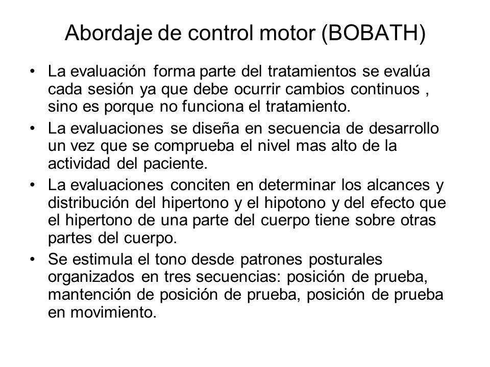 Abordaje de control motor (BOBATH)