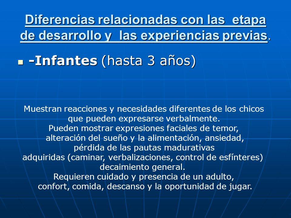 -Infantes (hasta 3 años)