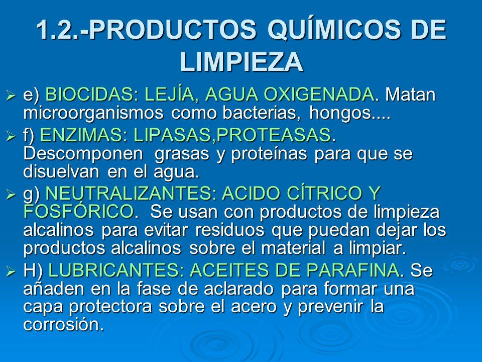 Limpieza y desinfecci n de materiales e instrumentos ppt - Lejia para los hongos ...