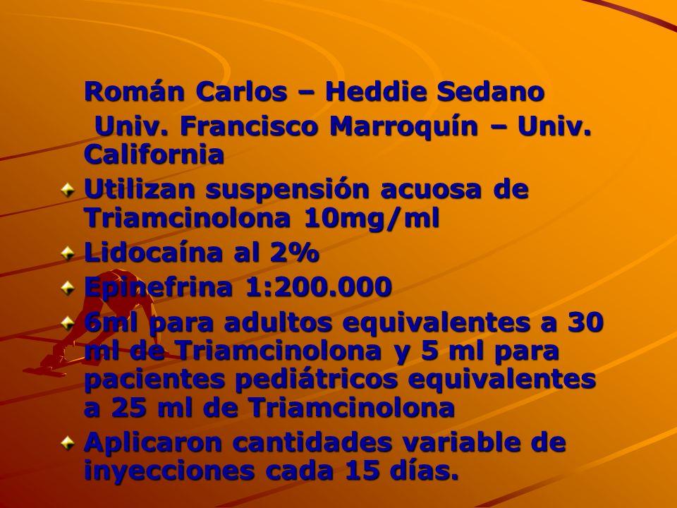 Román Carlos – Heddie Sedano