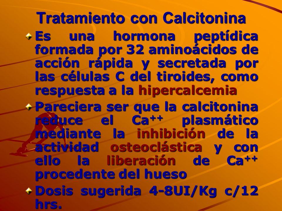 Tratamiento con Calcitonina