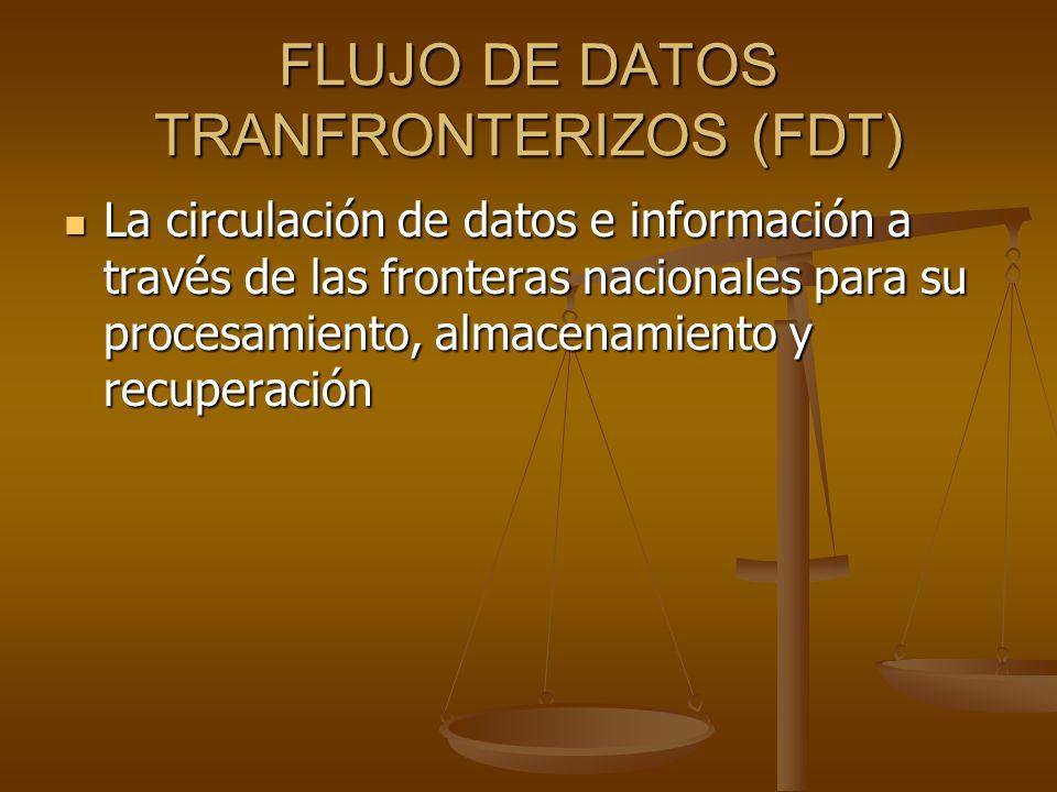 FLUJO DE DATOS TRANFRONTERIZOS (FDT)
