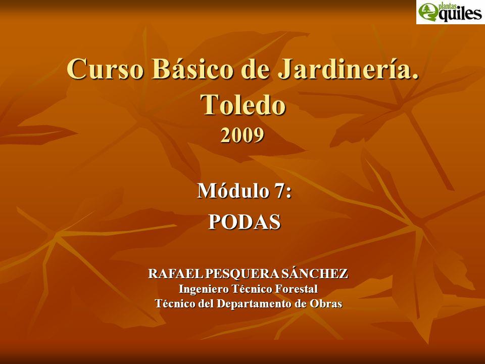 Curso Básico de Jardinería. Toledo 2009