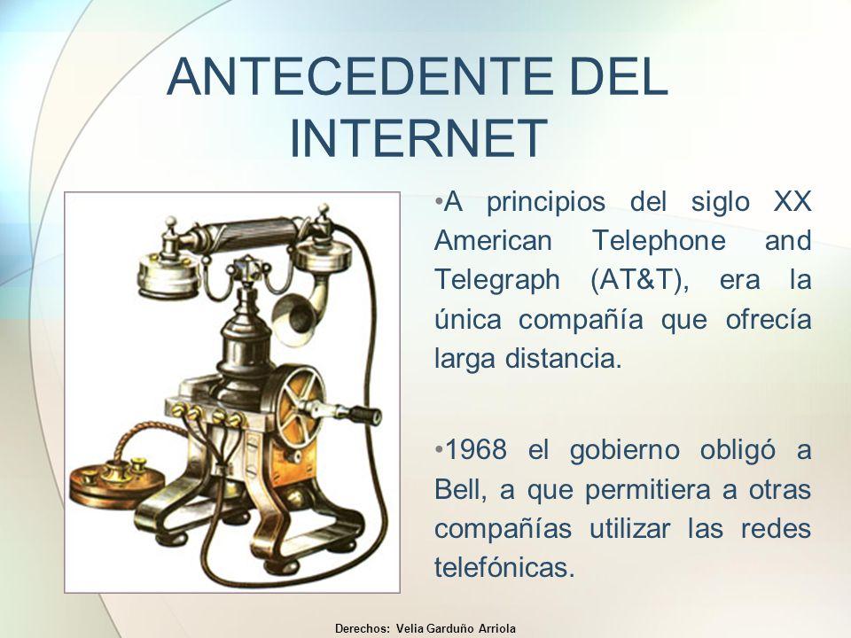 ANTECEDENTE DEL INTERNET