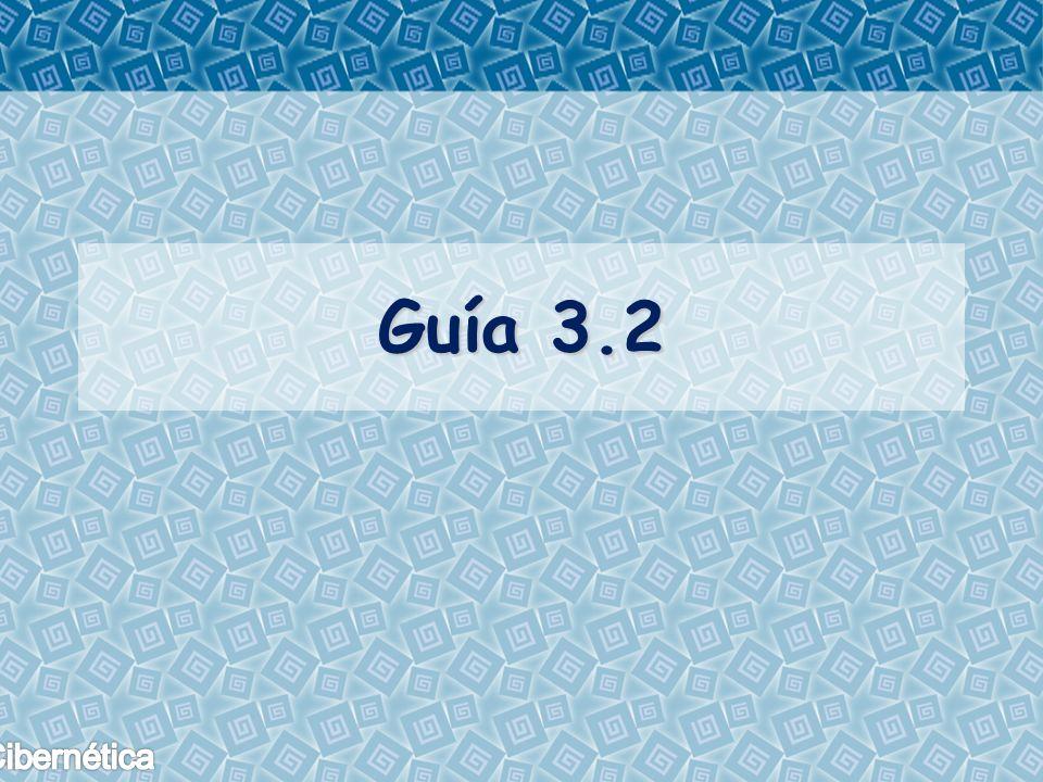 Guía 3.2
