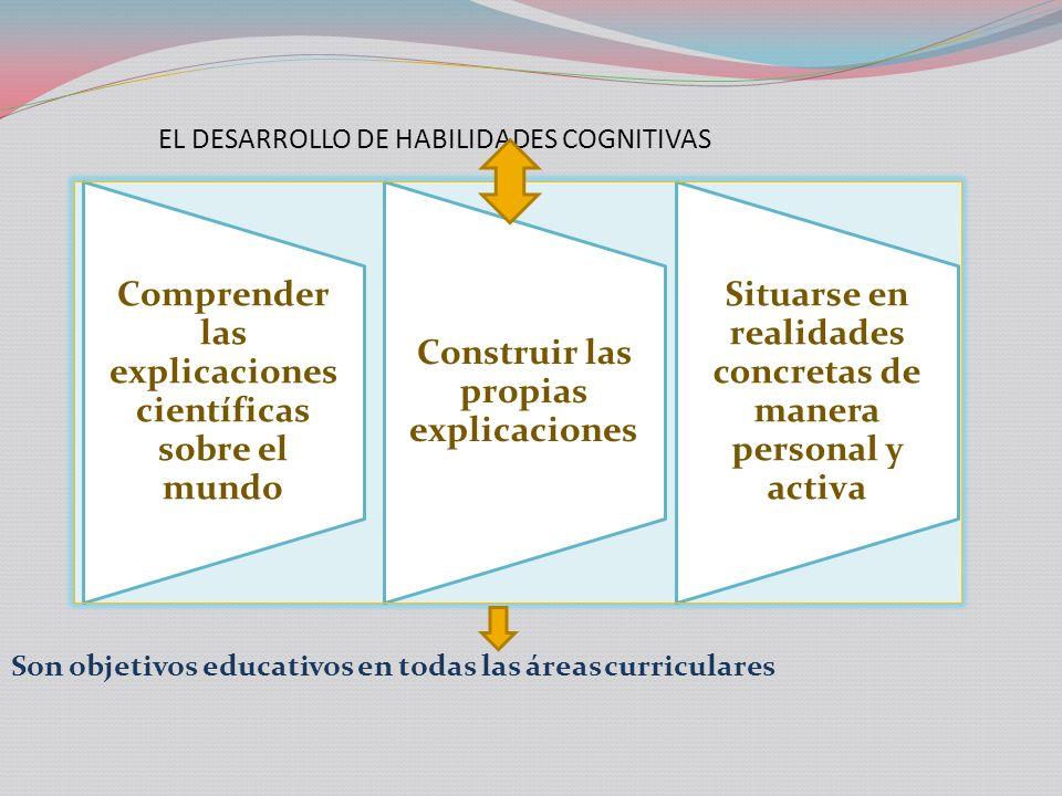 EL DESARROLLO DE HABILIDADES COGNITIVAS