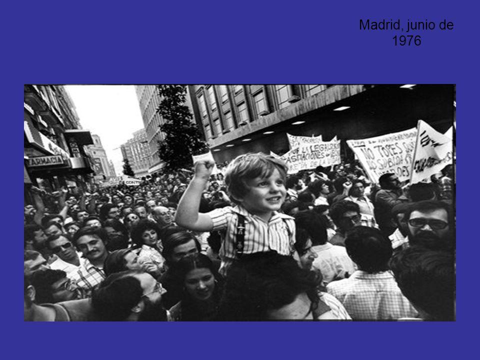 Madrid, junio de 1976
