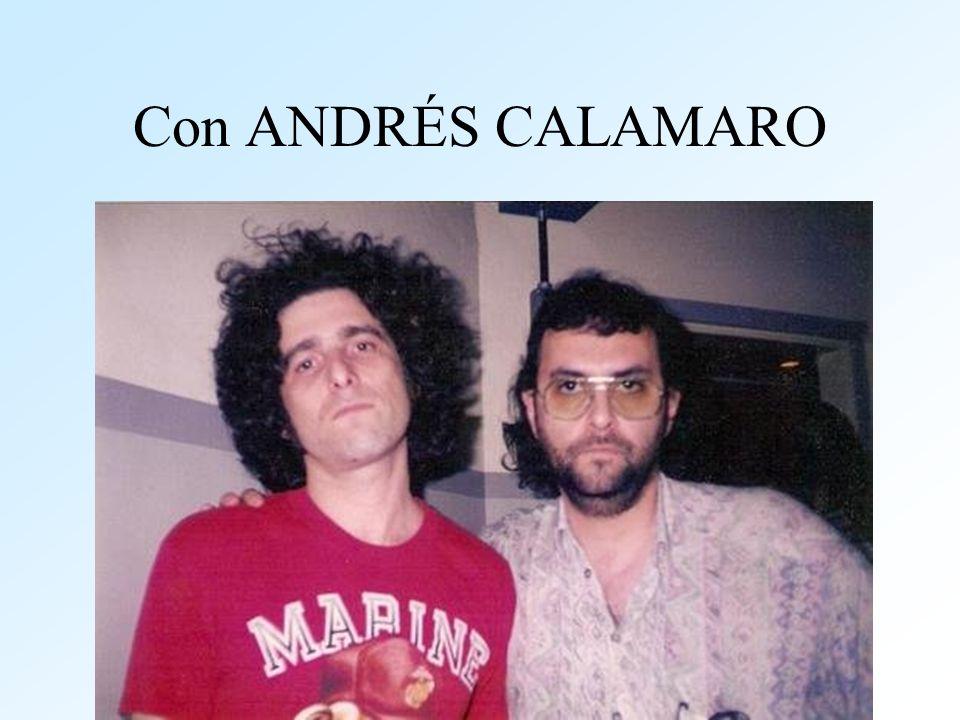 Con ANDRÉS CALAMARO