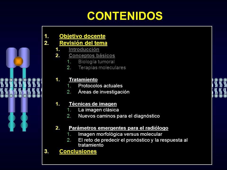 CONTENIDOS Objetivo docente Revisión del tema Objetivo docente