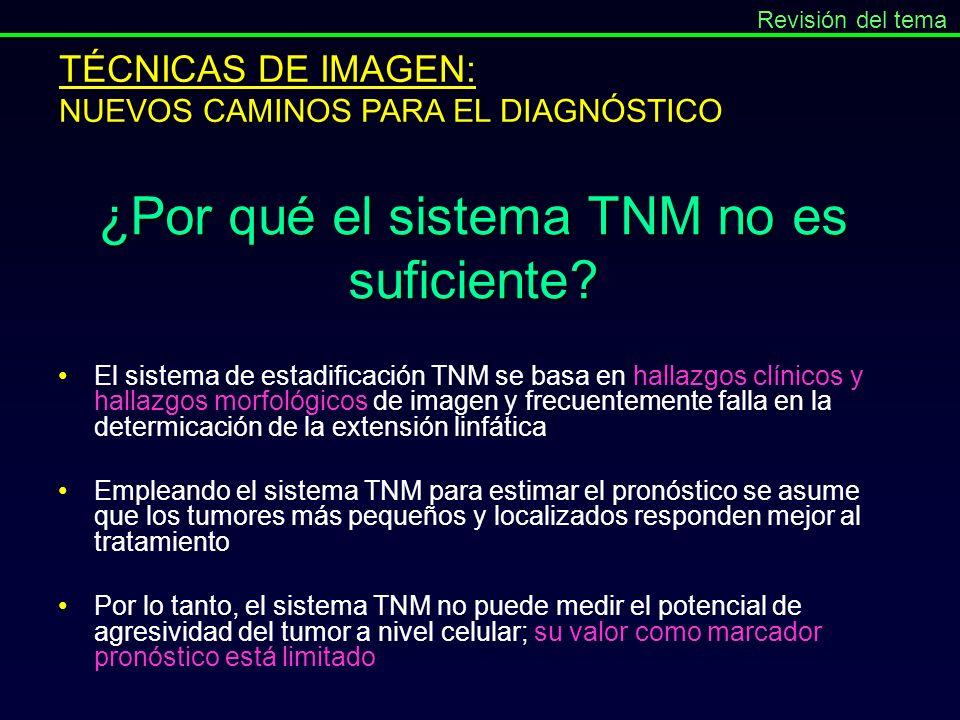 ¿Por qué el sistema TNM no es suficiente