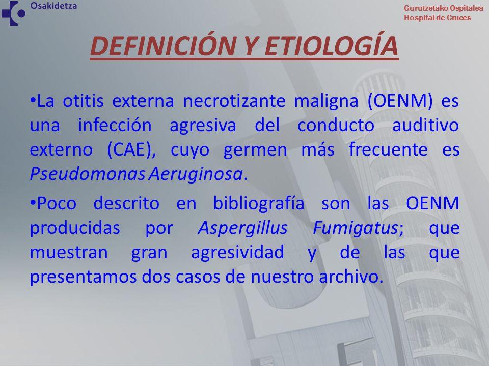 DEFINICIÓN Y ETIOLOGÍA