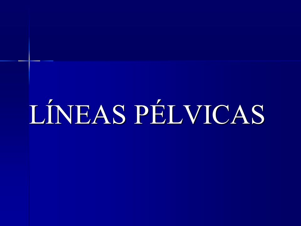 LÍNEAS PÉLVICAS