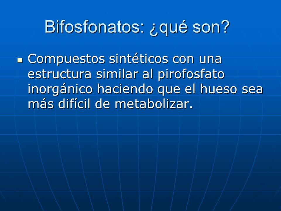 Bifosfonatos: ¿qué son