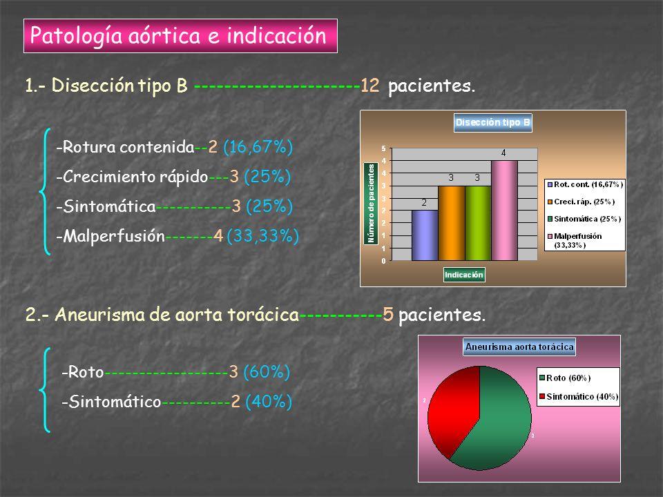 Patología aórtica e indicación