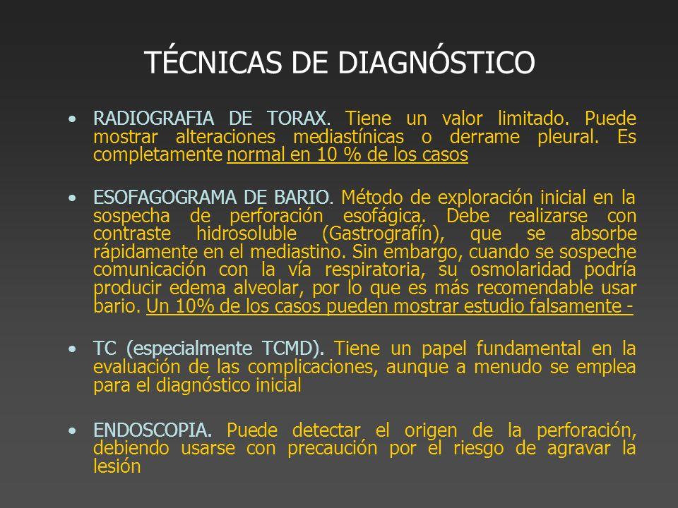 TÉCNICAS DE DIAGNÓSTICO