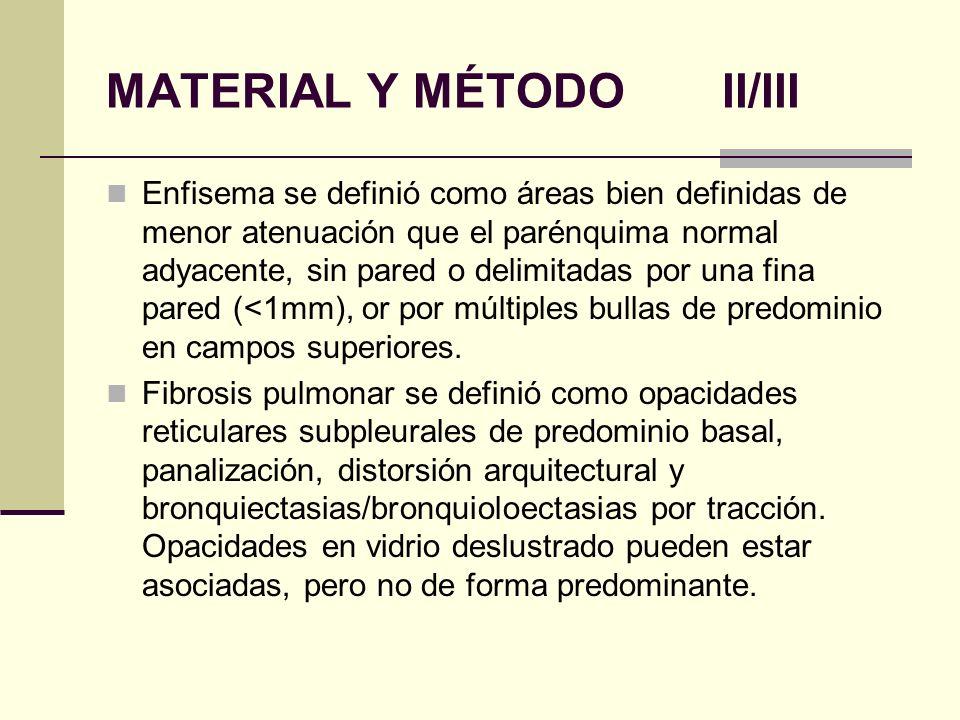 MATERIAL Y MÉTODO II/III