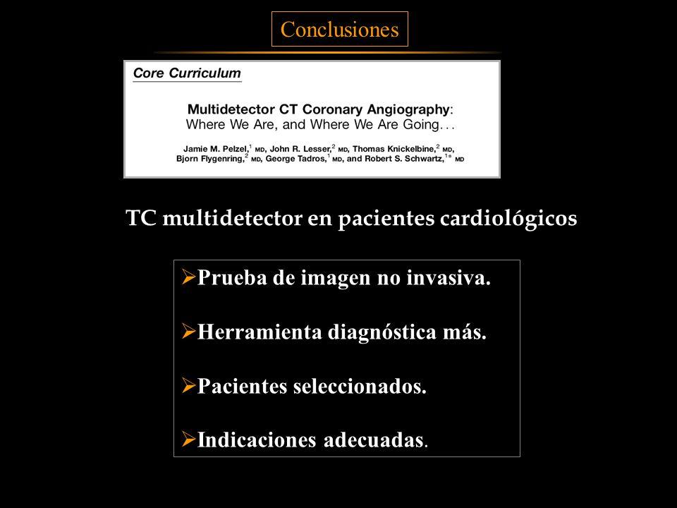 TC multidetector en pacientes cardiológicos