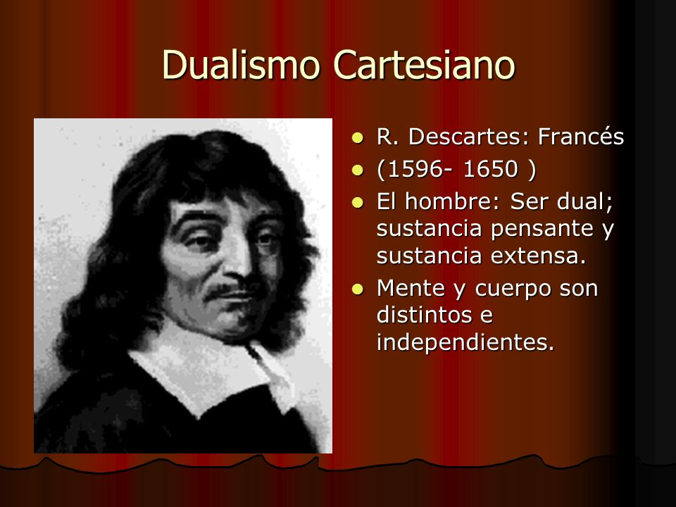 rene descartes mind body The mind-body problem descartes famously identified the tiny pineal gland as the point of contact between mind and body descartes made the mind the locus of.