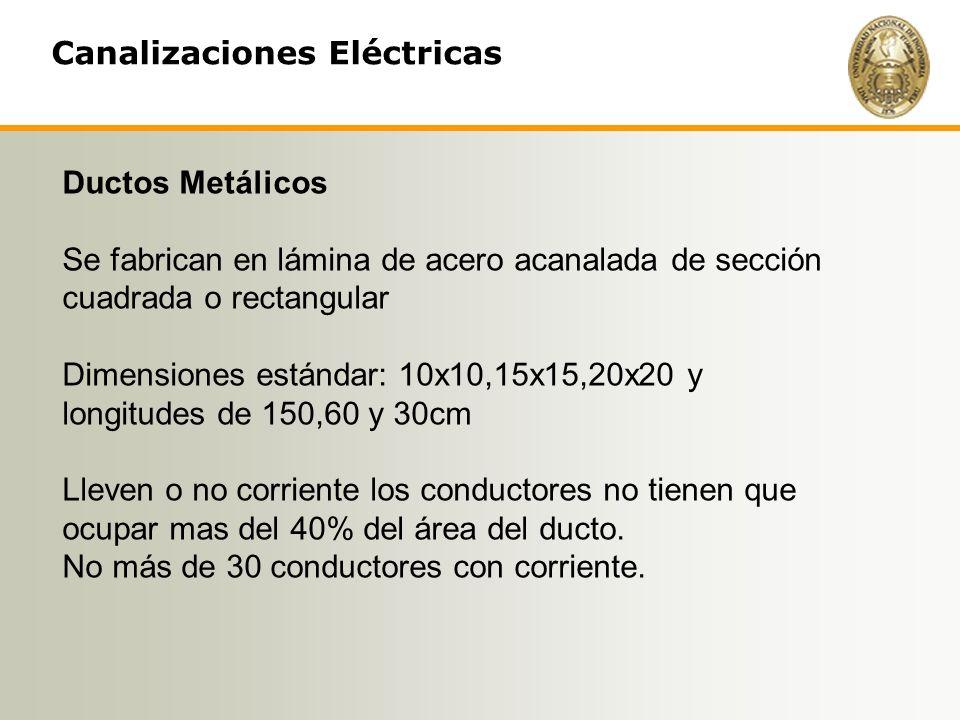 Canalizaciones Eléctricas