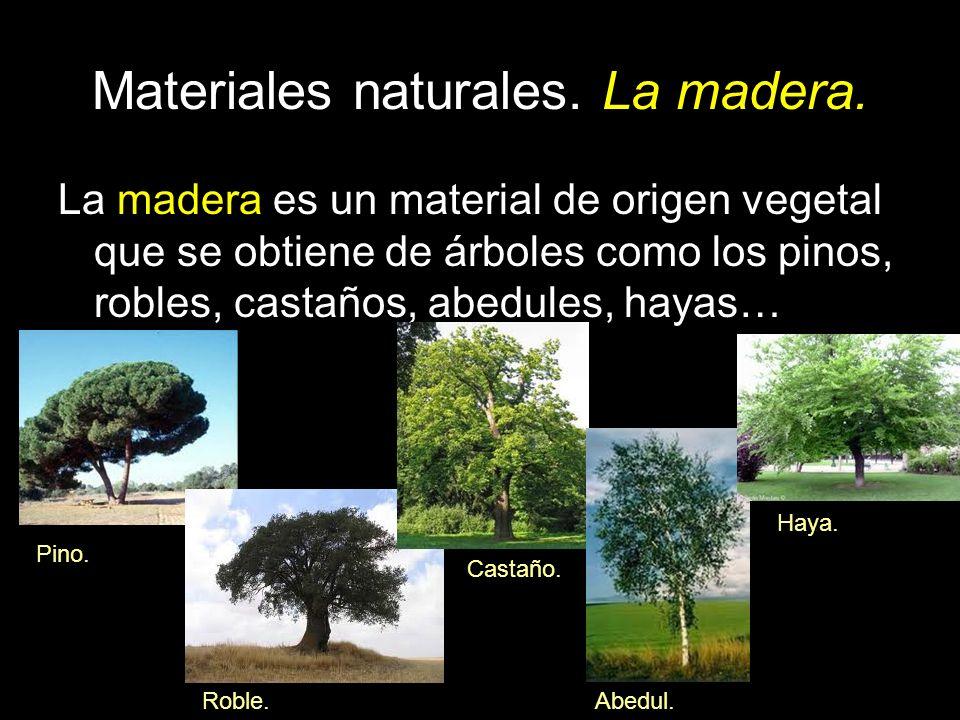 Materiales naturales ppt descargar for Que son las vetas de la madera