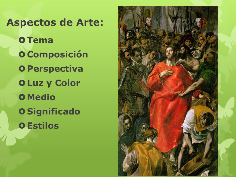 Aspectos de Arte: Tema Composición Perspectiva Luz y Color Medio