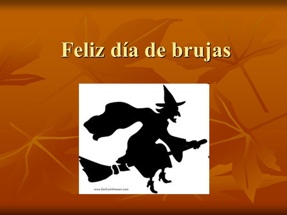 Feliz día de brujas