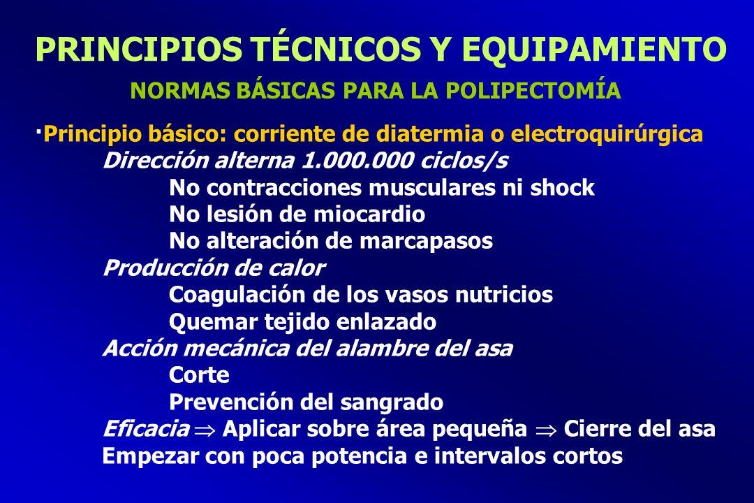 PRINCIPIOS TÉCNICOS Y EQUIPAMIENTO