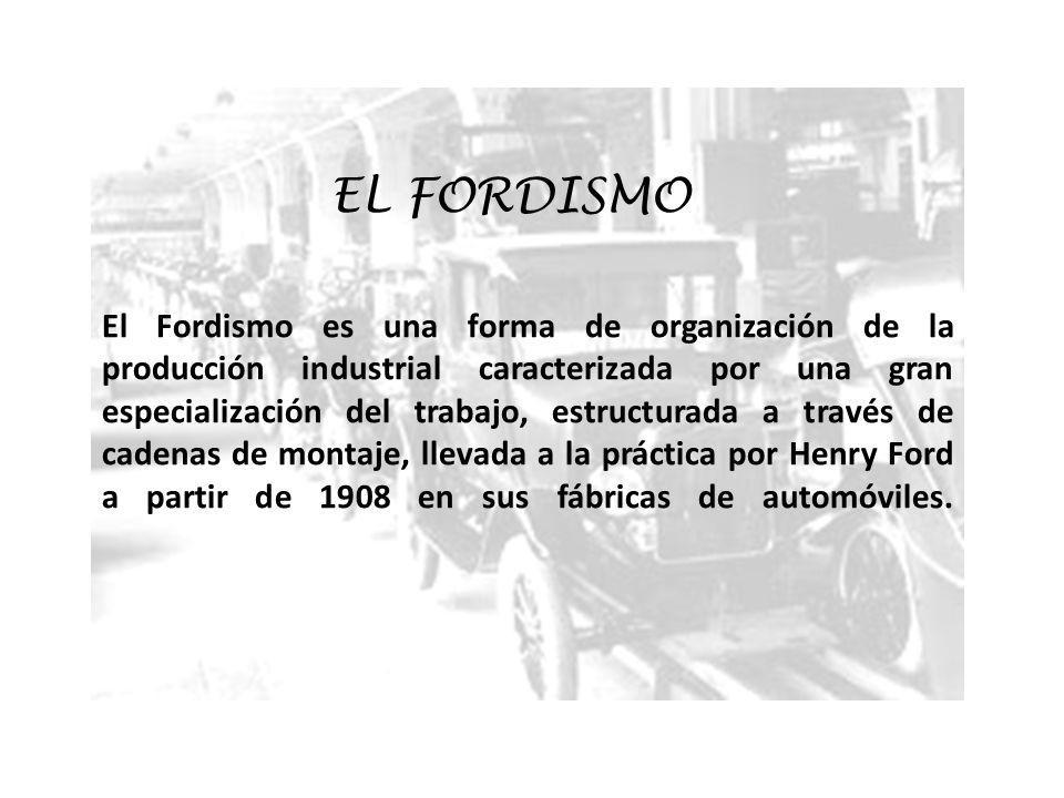 EL FORDISMO