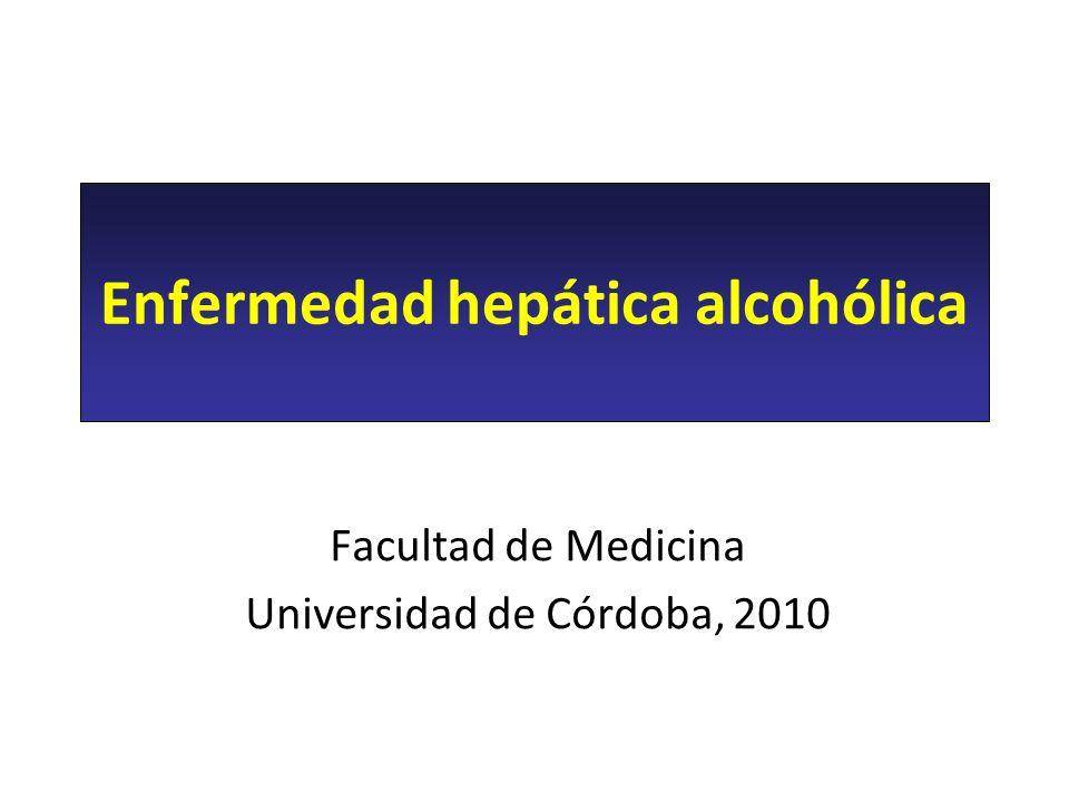 Enfermedad hepática alcohólica