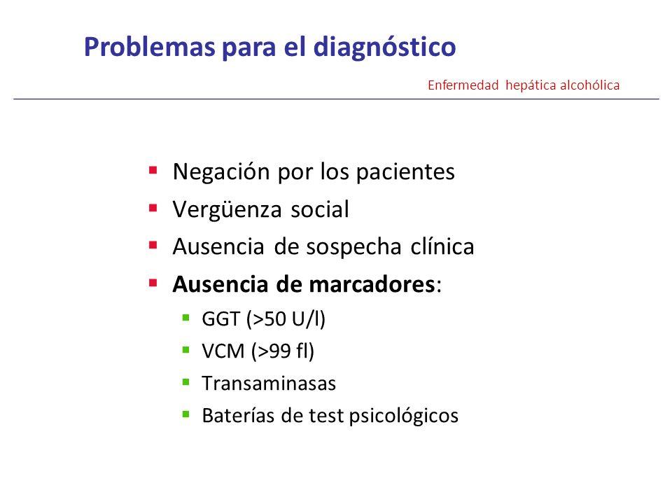 Problemas para el diagnóstico