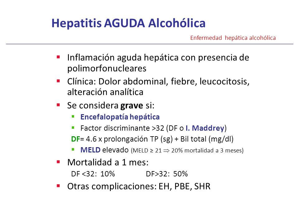 Hepatitis AGUDA Alcohólica