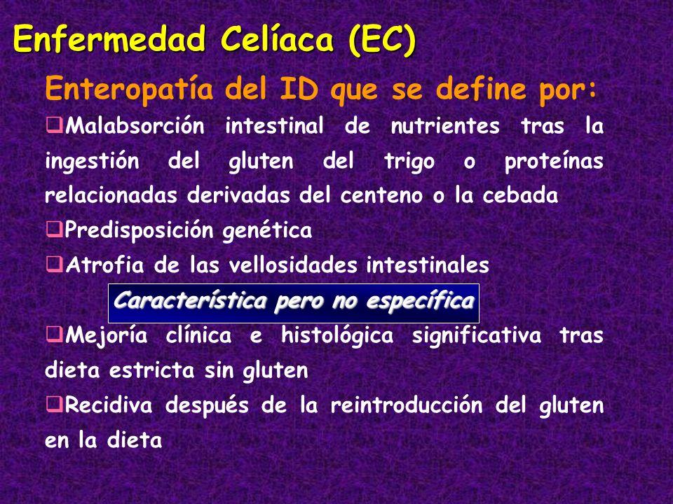 Enfermedad Celíaca (EC)