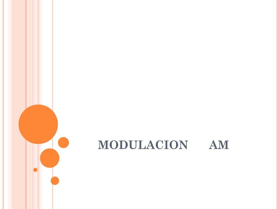 MODULACION AM