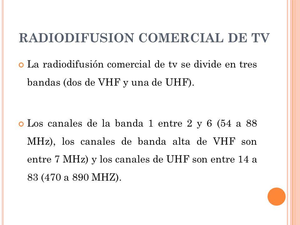 RADIODIFUSION COMERCIAL DE TV