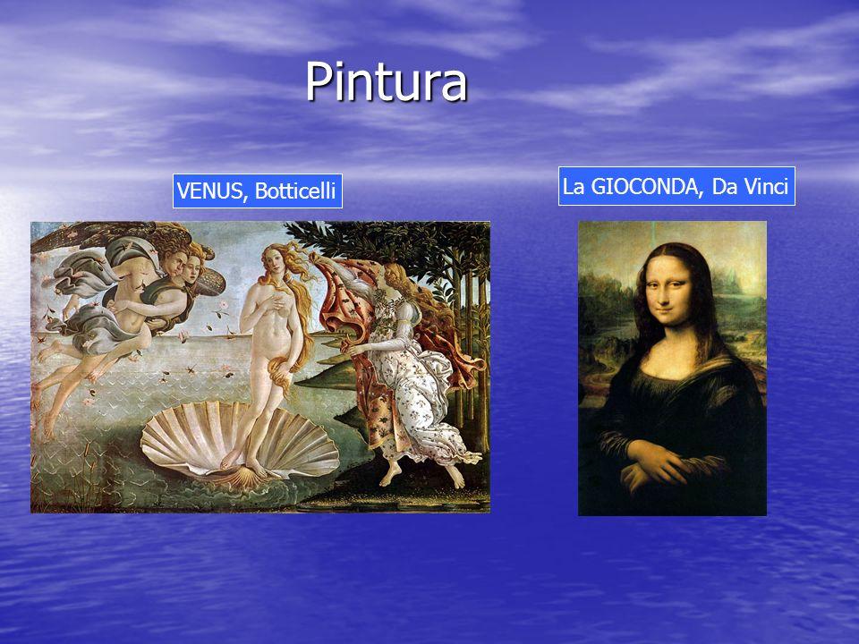 Pintura La GIOCONDA, Da Vinci VENUS, Botticelli