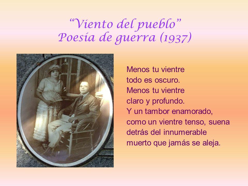 Viento del pueblo Poesía de guerra (1937)