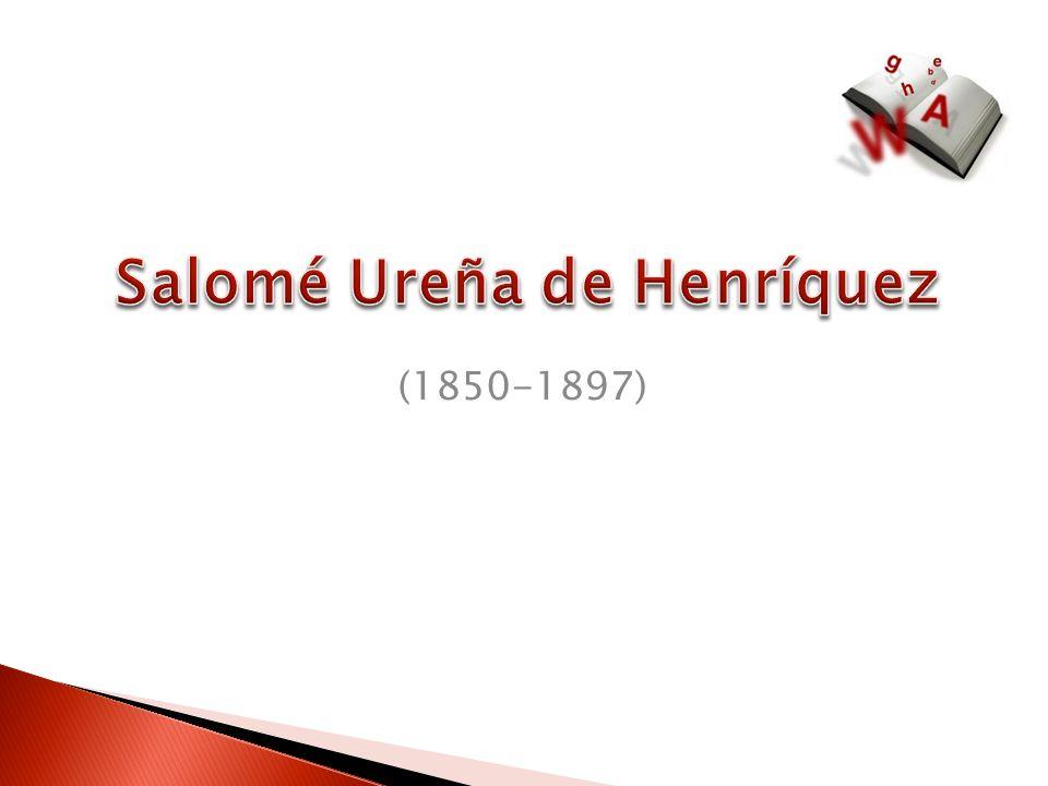 Salomé Ureña de Henríquez