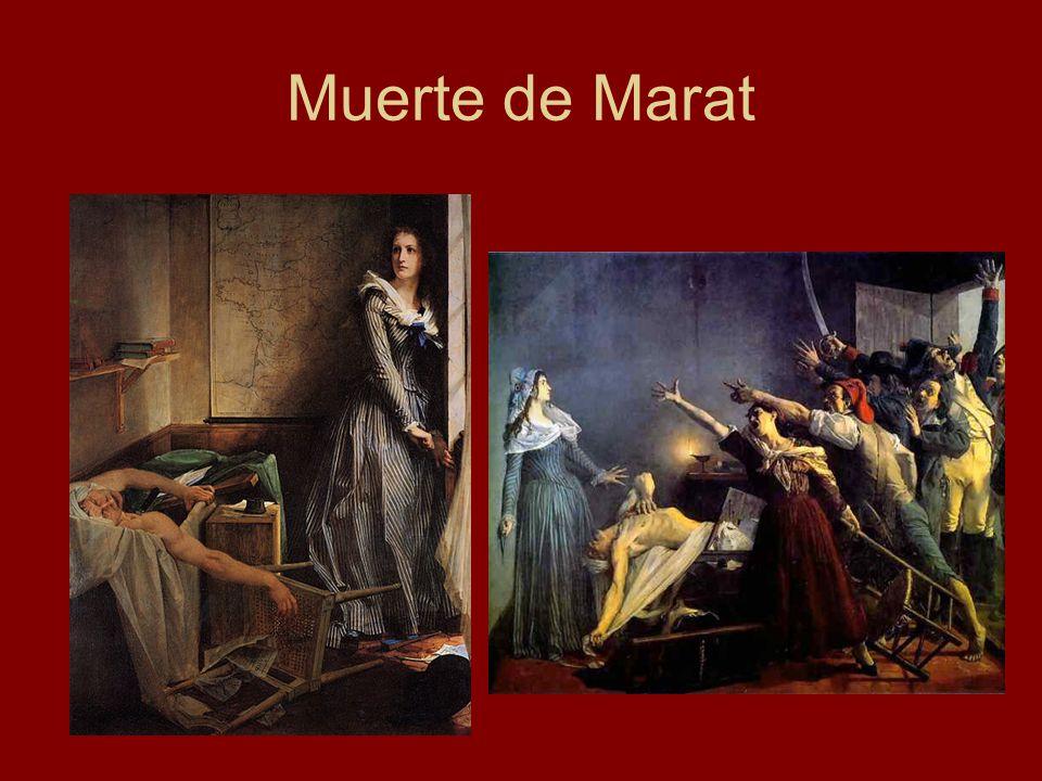 Muerte de Marat