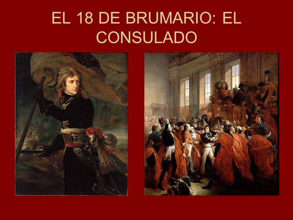 EL 18 DE BRUMARIO: EL CONSULADO