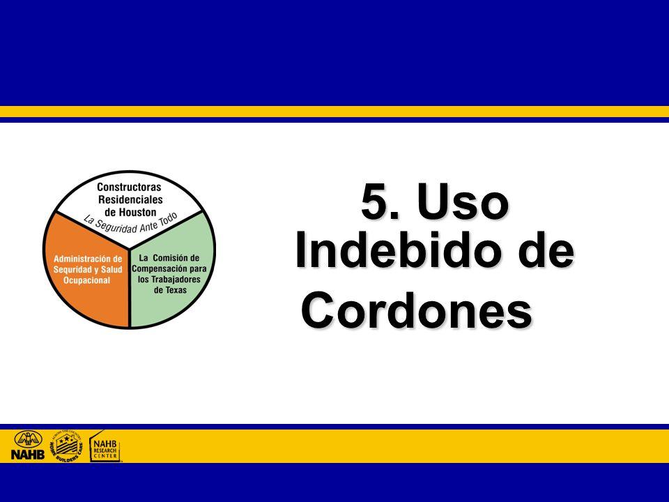 5. Uso Indebido de Cordones