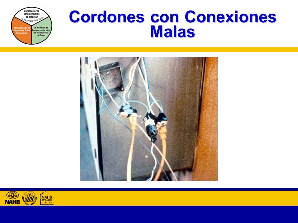 Cordones con Conexiones Malas