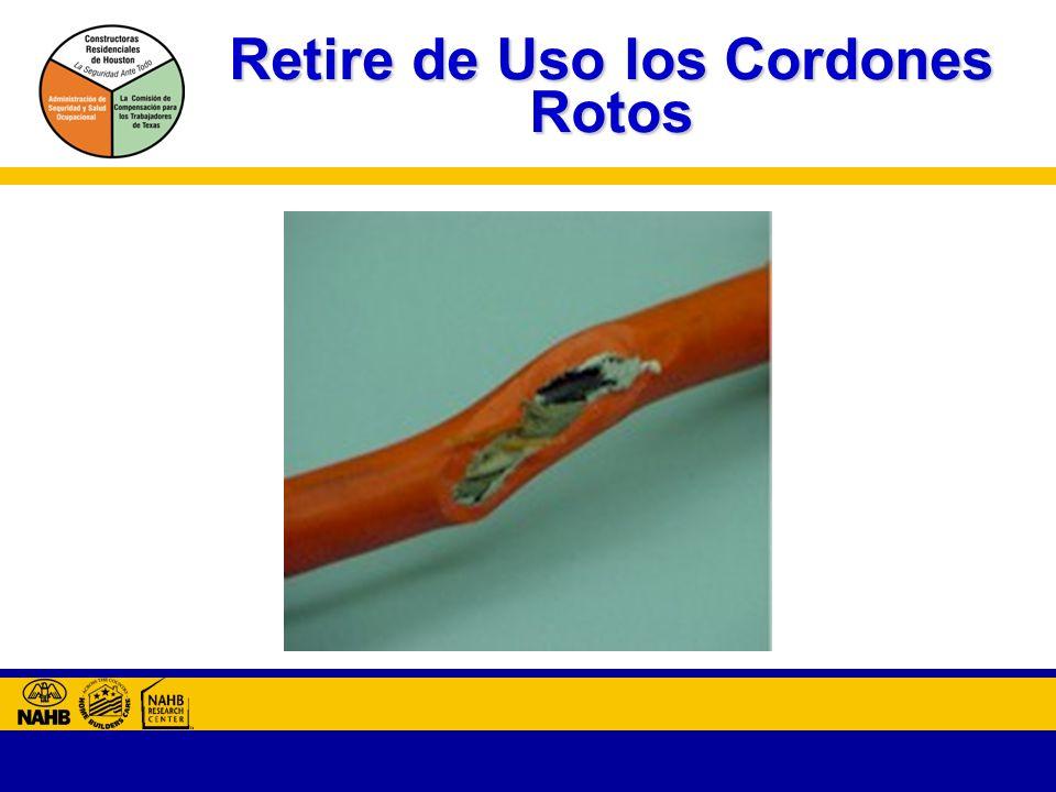 Retire de Uso los Cordones Rotos