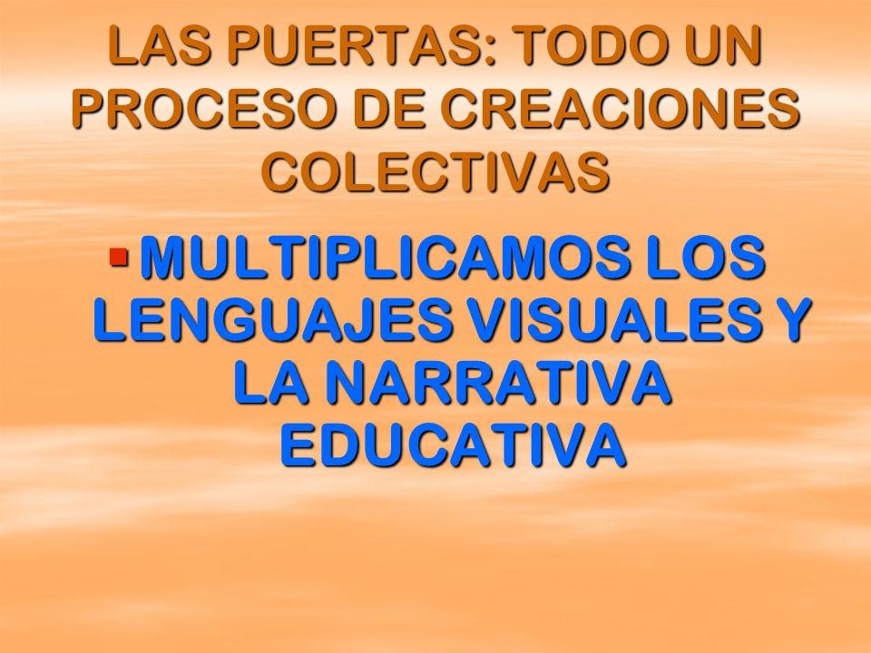LAS PUERTAS: TODO UN PROCESO DE CREACIONES COLECTIVAS